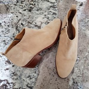 J CREW FACTORY Sawyer Suede ankle boots Tan 7.5